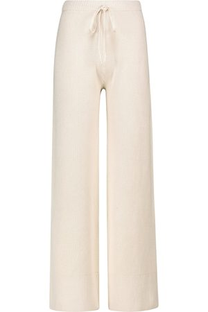 Joseph Crispy wide-leg cotton-blend pants