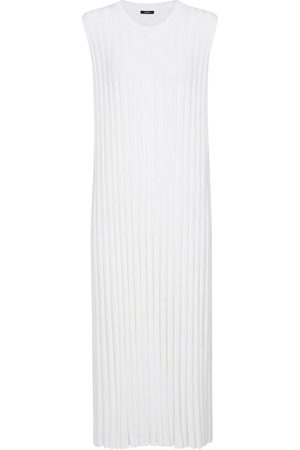 Joseph Ribbed-knit midi dress