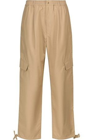 Deveaux New York Viola high-rise wide-leg cargo pants