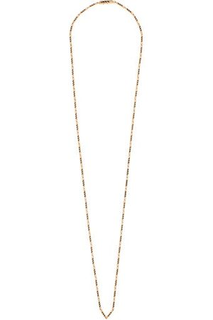 Dezso Dames Kettingen - Enamel & 18kt Rose Gold Necklace - Womens - Yellow Gold