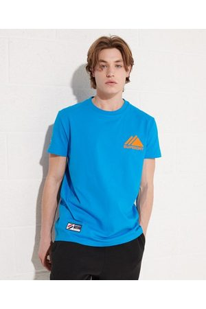Superdry Heren Shirts - Mountain Sport Mono Mini T-shirt