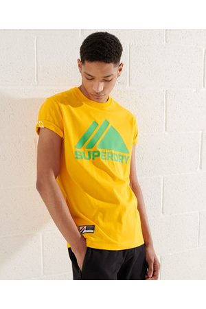 Superdry Heren Shirts - Mountain Sport Mono T-shirt