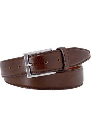 Profuomo Heren Riemen - Heren ceintuur belt calf leather brown /