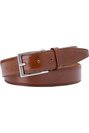 Profuomo Heren ceintuur belt calf leather cognac