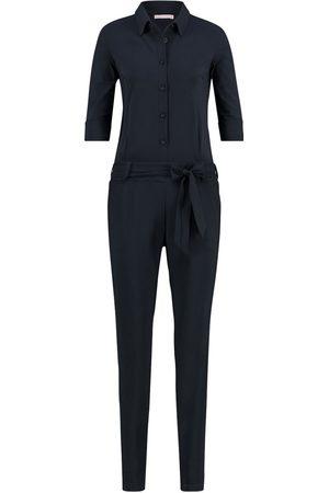 Studio Anneloes Dames Straight - Dames jumpsuit angelique jumpsuit 3/4 with cufs 90544
