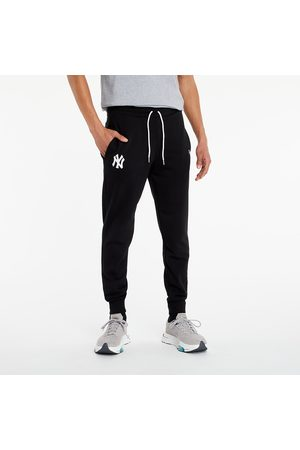 New Era Heren Joggingbroeken - MLB Logo Joggers New York Yankees Black