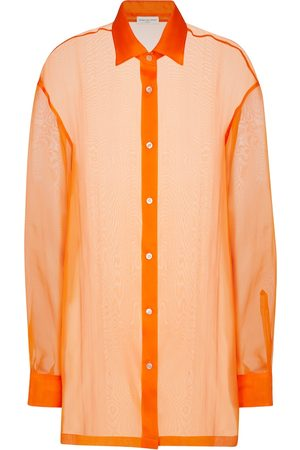 DRIES VAN NOTEN Silk organza shirt