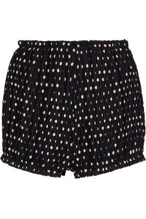 Khaite The Hilary silk shorts