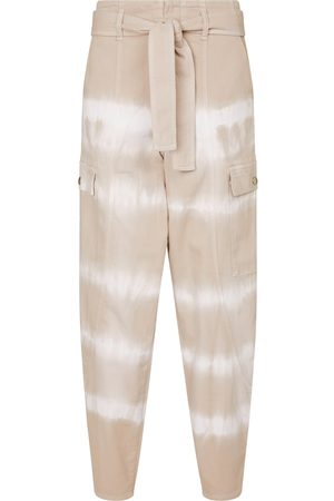 Stella McCartney Tie-dye stretch-cotton pants