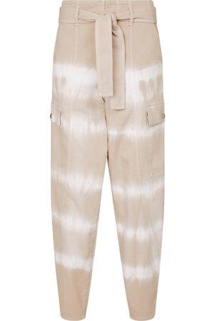 Stella McCartney Tie-dye stretch-cotton pants