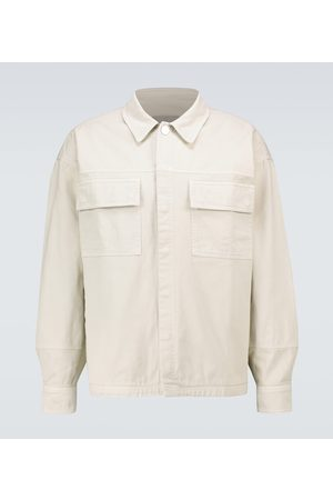A-cold-wall* Long-sleeved twill overshirt