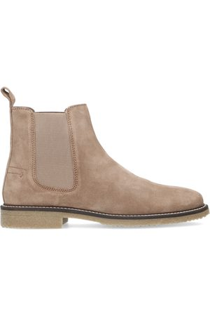 Sacha Taupe suède chelsea boots