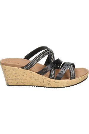 Skechers Dames Sandalen - Luxe Foam sleehak