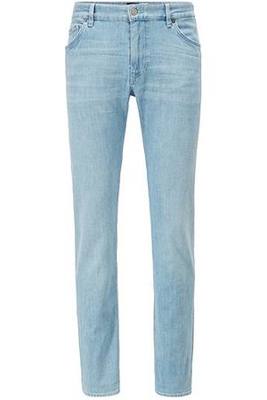 HUGO BOSS Heren Jeans - Regular-fit jeans van Italiaans denim met een kasjmierfeel