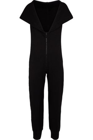 Norma Kamali Stretch-cotton jersey jumpsuit
