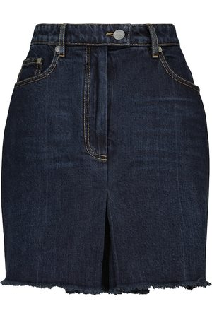 Peter Do High-rise denim skort
