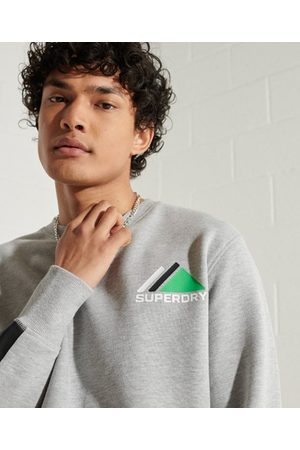 Superdry Heren Shirts - Mountain Sport sweatshirt met ronde hals