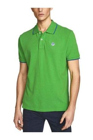 North Sails Polo S/S W/Logo heren - - Large