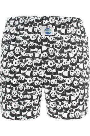 Deal Heren Boxershorts - Boxershort panda zwart && wit