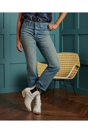 Superdry Dames Broeken - DRY Limited Edition Dry Japanese broek met rechte pijpen