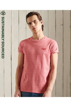Superdry Vintage T-shirt van biologisch katoen met borduursel