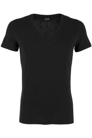 Hom Heren Shirts - Supreme cotton V-hals shirt