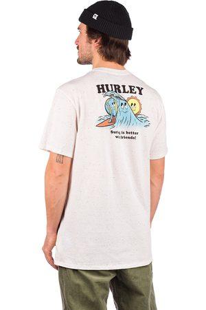 Hurley Heren Korte mouw - Evd Reg Earth And Surfs T-Shirt