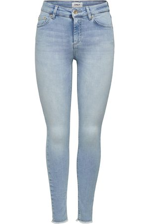 ONLY Dames Skinny - Jeans 'onlBLUSH MID SK ANK RAW JEANS REA306