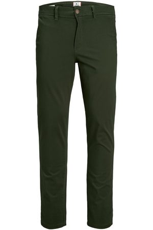 Jack & Jones Heren Chino's - Marco Bowie Chino Heren Green