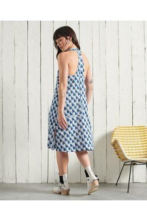 Superdry Dames Geprinte jurken - DRY Limited Edition Dry Shift jurk met print