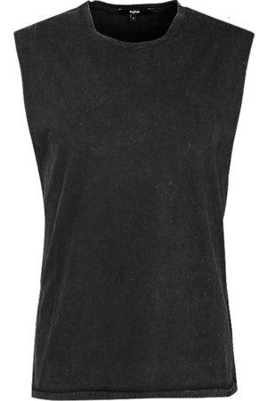 Tigha Heren Tanktops - Heren Tanktop Ramis (vintage black)