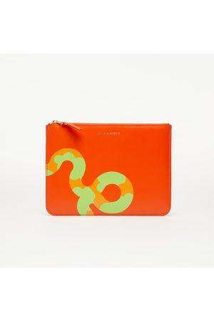 Comme des Garçons Comme des Garçons Ruby Eyes Wallet Orange