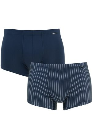 Skiny Boxershorts power line microfiber 2-pack trunks streep && III