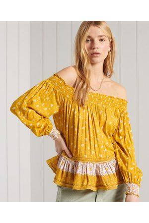 Superdry Dames Shirts - Off-shoulder Ameera top