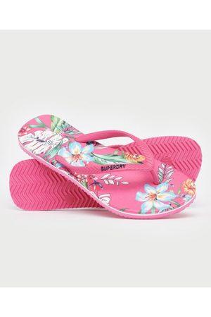 Superdry Dames Slippers - Klassieke Vintage teenslippers