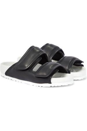 Birkenstock X CSM Cosy leather sandals