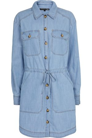 VERONICA BEARD Alyse chambray minidress