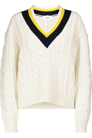 Victoria Victoria Beckham Cable-knit sweater