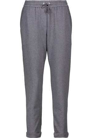 Brunello Cucinelli Cotton jersey sweatpants