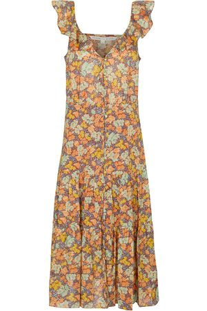 VERONICA BEARD Malgosia floral cotton midi dress