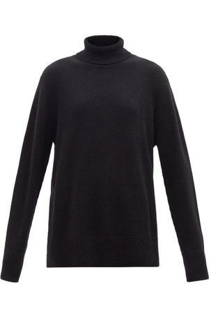 The Row Stepny Wool-blend Roll-neck Sweater - Womens - Black
