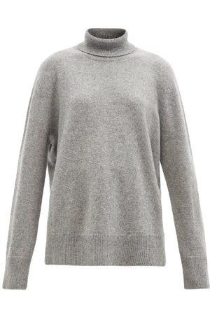 The Row Stepny Wool-blend Roll-neck Sweater - Womens - Grey