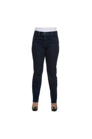 Ulla Popken Grote maten dames Straight Jeans Stretchjeans Mony