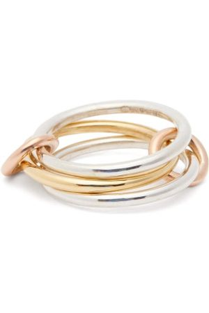 SPINELLI KILCOLLIN Solarium 18kt Gold & Silver Ring - Womens - Silver