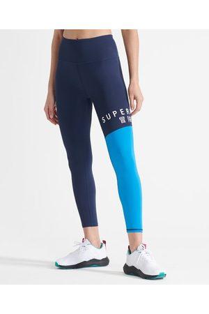 Superdry Dames Leggings - Sport Training 7/8-legging met print