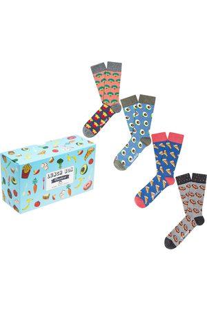 Moustard Dames Sokken & Kousen - Lunch giftbox 4-pack
