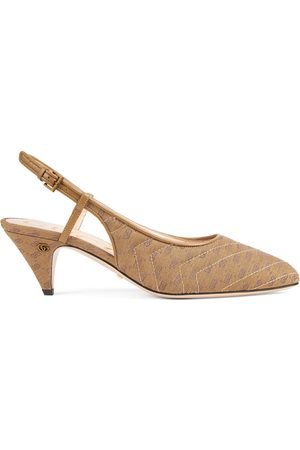 Gucci Women's sling back with mini Double G