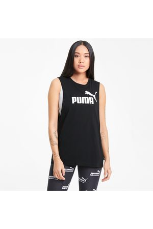 PUMA Essentials Logo Cut Off tanktop dames voor Heren, , Maat L |