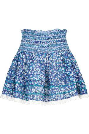 POUPETTE ST BARTH Dames Korte & Mini rokken - Exclusive to Mytheresa – Galia floral cotton miniskirt