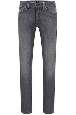 HUGO BOSS Heren Jeans - Regular-fit jeans van comfortabel stretchdenim uit Italië